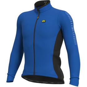 Alé Cycling Solid Fondo Maglia Jersey A Maniche Lunghe Uomo, blu